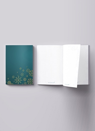 LWP Shop Christmas Notebook Petrol